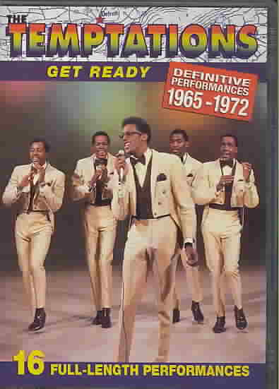 GET READY:DEFINITIVE PERFORMANCES 1 BY TEMPTATIONS (DVD)
